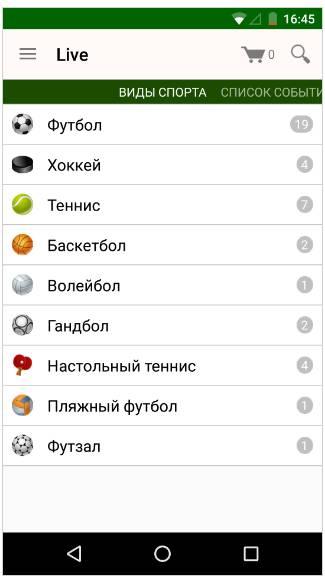Лига Ставок вход мобильная версия россия