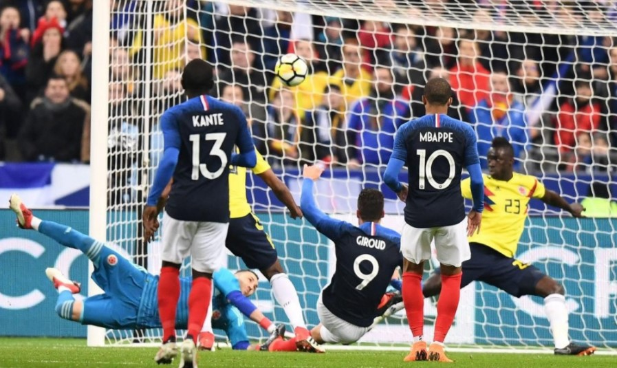 франция дания футбол 2018
