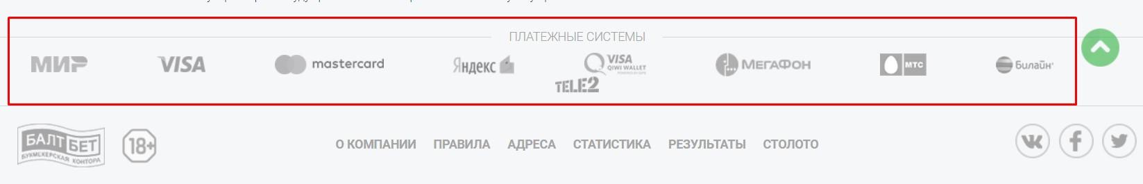 балтбет букмекерская контора baltbet com регистрация