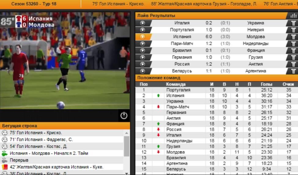 ставки на виртуальный футбол стратегии
