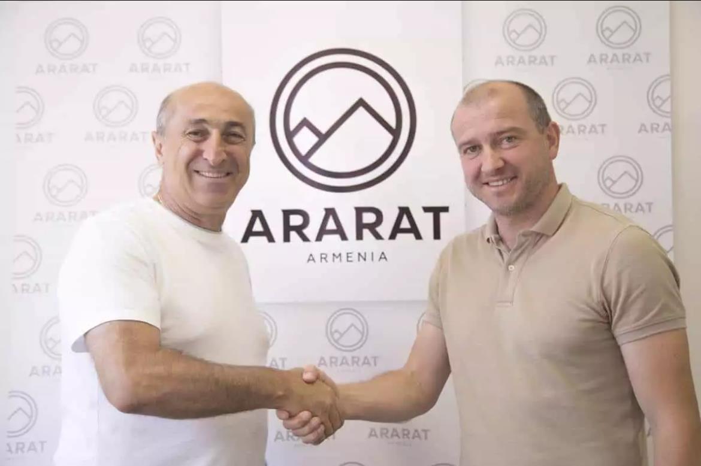 Армянский президент «Арарата» отказался от услуг Скрипченко