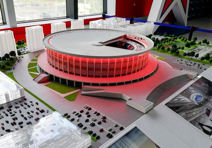 В Питере к ЧМ по хоккею построят новую арену 5
