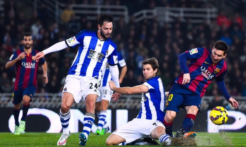 Прогноз на матч Ла Лиги Реал Сосьедад – Барселона