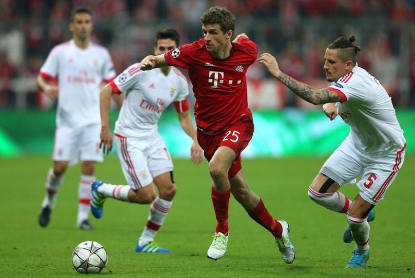 Прогноз на матч Лиги Чемпионов Бенфика – Бавария 2