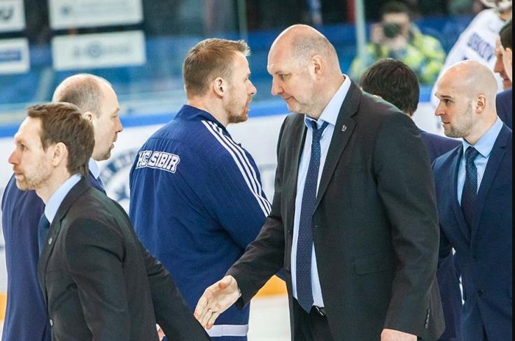 Смена тренера по хоккею Андриевский покоряет «Сибирь» 2