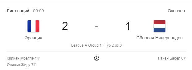 Нидерланды – Франция прогноз на матч Лиги Наций 3