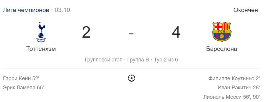 Прогноз на матч Лиги Чемпионов Тоттенхэм – ПСВ 6.11.18 2