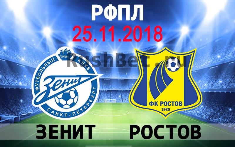 Зенит – Ростов