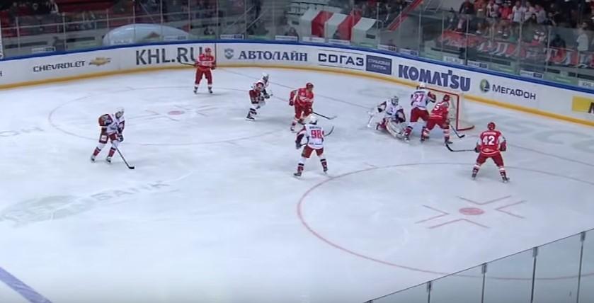 Прогноз на матч КХЛ Спартак – Локомотив 1