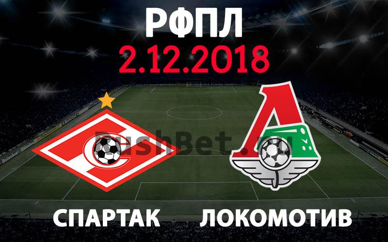 Спартак – Локомотив