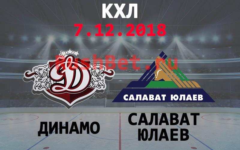 Динамо Рига – Салават Юлаев