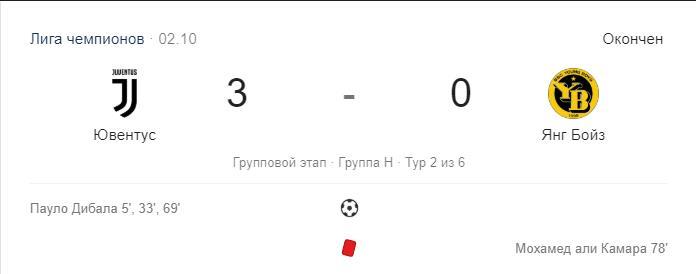 Прогноз на матч Лиги Чемпионов Янг Бойз – Ювентус 3