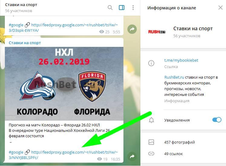 Ставки на спорт прогнозы в телеграм канале бесплатно + приложения БК 2