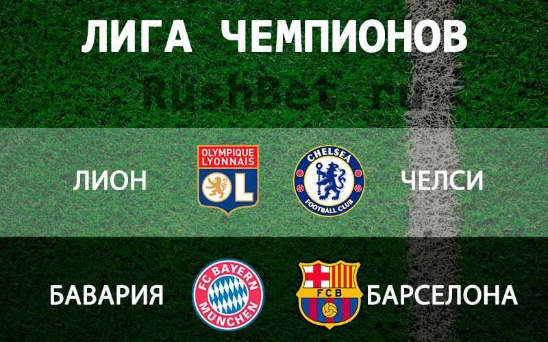 Прогнозы-на-матчи-½-финала-женской-Лиги-Чемпионов-2019