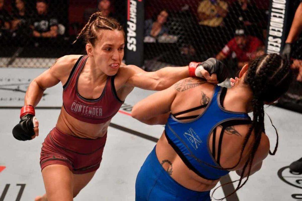 UFC. Киргизкая пантера против опытной американки 1