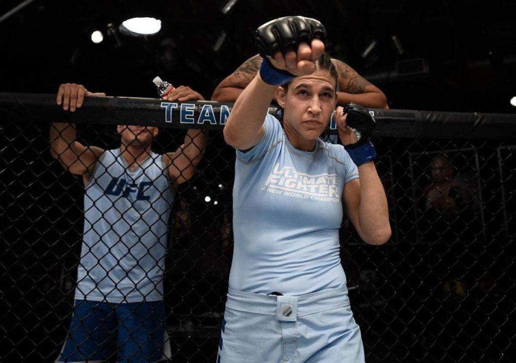 UFC. Киргизкая пантера против опытной американки 2
