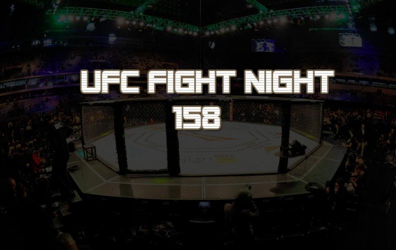 Объявлен главный бой UFC Fight Night 158