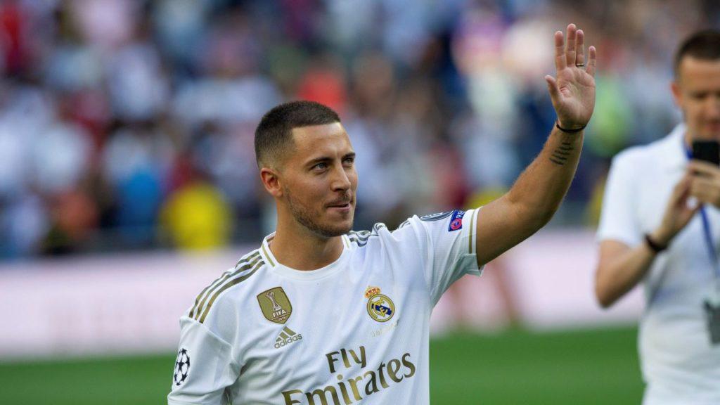 Эден Азар проведёт свой первый матч за мадридский «Реал»