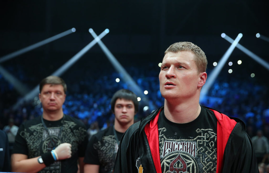 Александр Поветкин планирует выйти на топ уровень