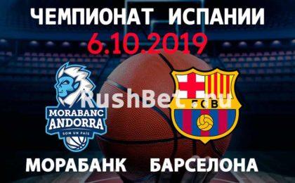 Прогноз на матч МораБанк - Барселона