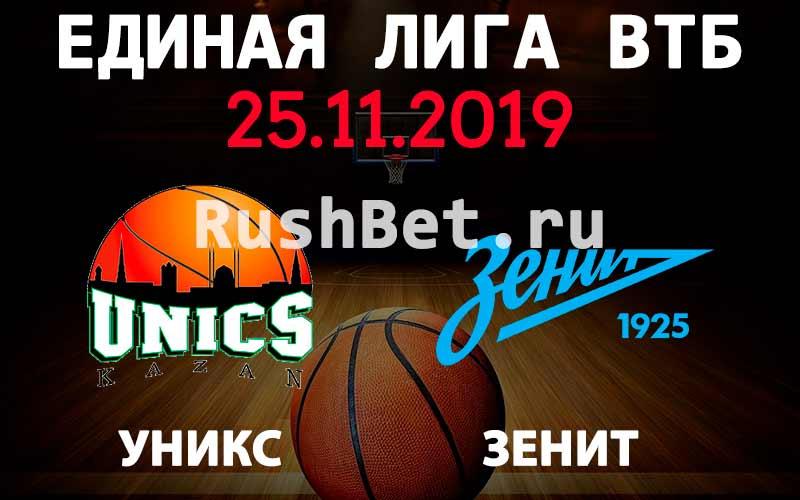 Прогноз на матч УНИКС - Зенит