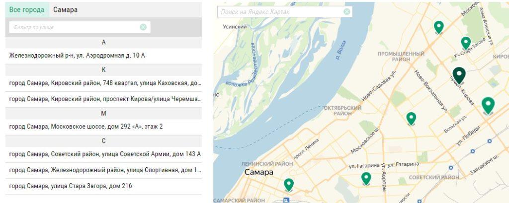 Адреса букмекеров в Самаре 4