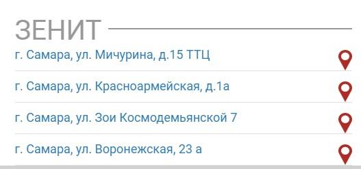 Адреса букмекеров в Самаре 5