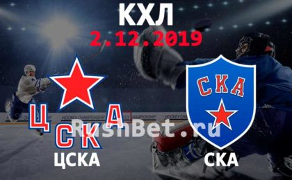 Прогноз ЦСКА – СКА