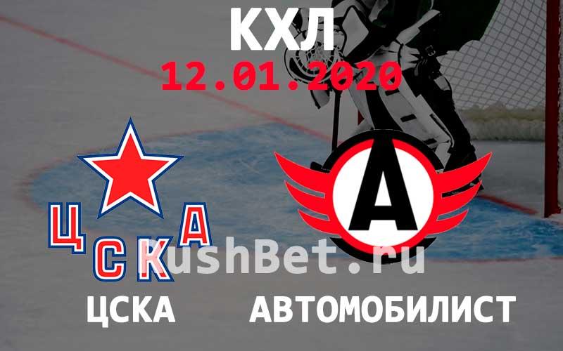 Прогноз ЦСКА – Автомобилист