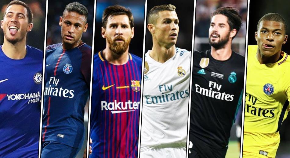 ТОП 10 лучших футболистов 2019