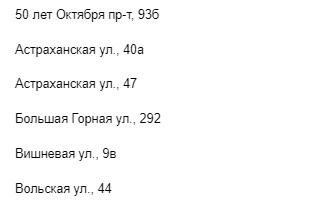 Саратовские адреса БК Фонбет