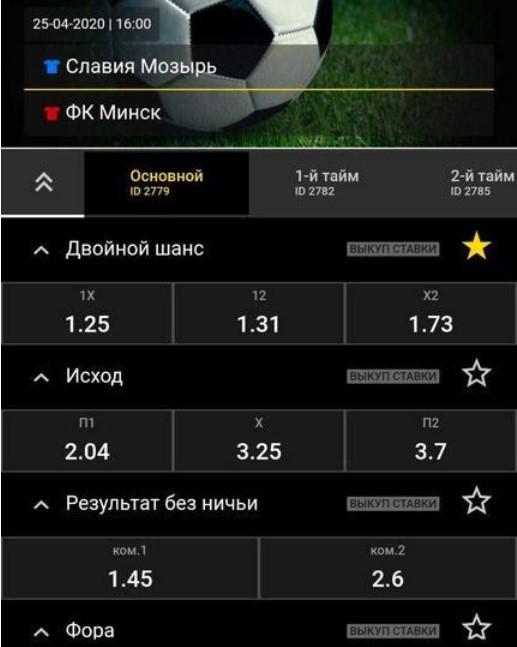 Ставки на матч Славия Мозырь и ФК Минск