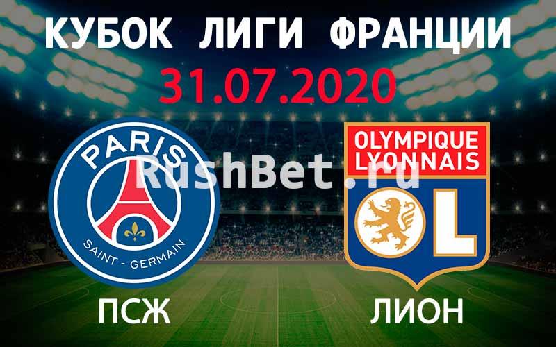 Прогноз на матч ПСЖ – Лион