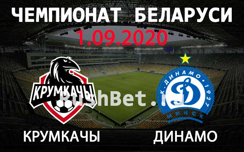 Прогноз на матч Крумкачы - Динамо Минск