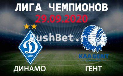 Прогноз на матч Динамо Киев - Гент