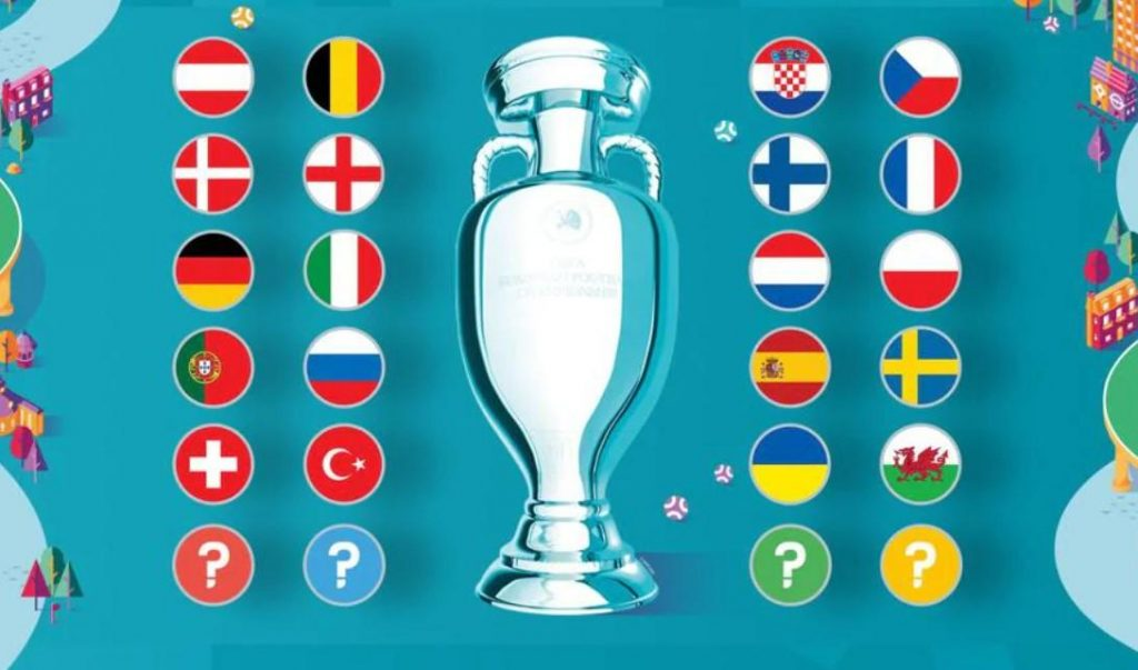 Стыковые матчи Евро-2020 в ноябре