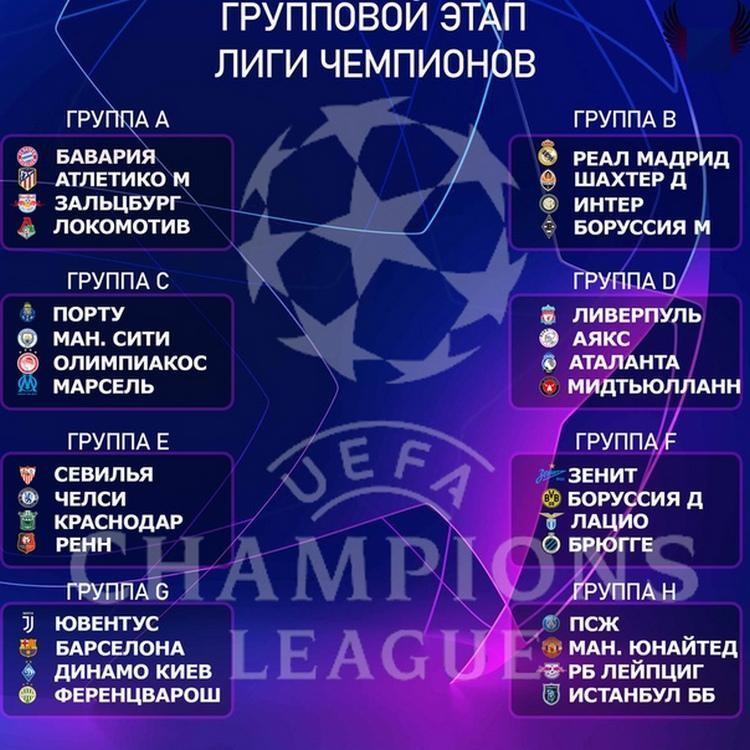 Групповой этап Лиги чемпионов