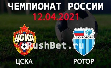 Прогноз на матч ЦСКА - Ротор