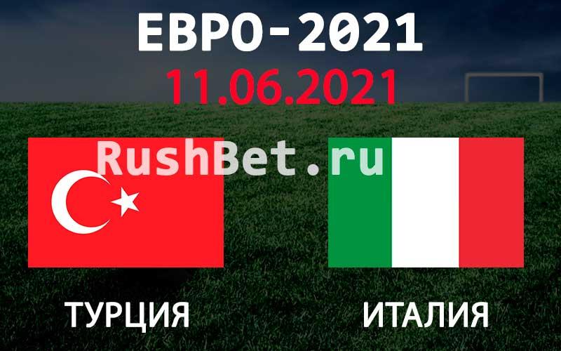 Прогноз на матч Турция - Италия
