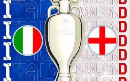 Финал Евро 2021: Италия - Англия