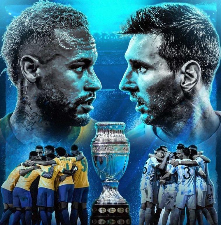 Кубок Америки 2021: Аргентина - Бразилия