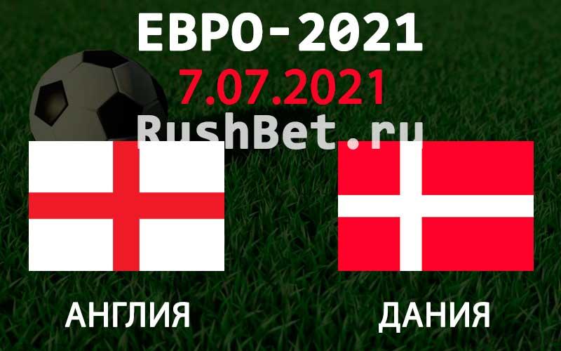 Прогноз на матч Англия - Дания