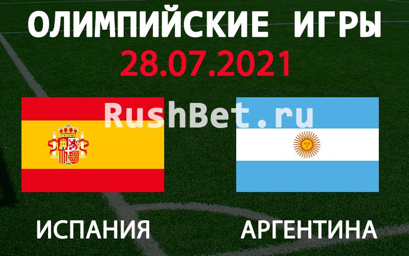 Прогноз на матч Испания Ол. - Аргентина Ол.