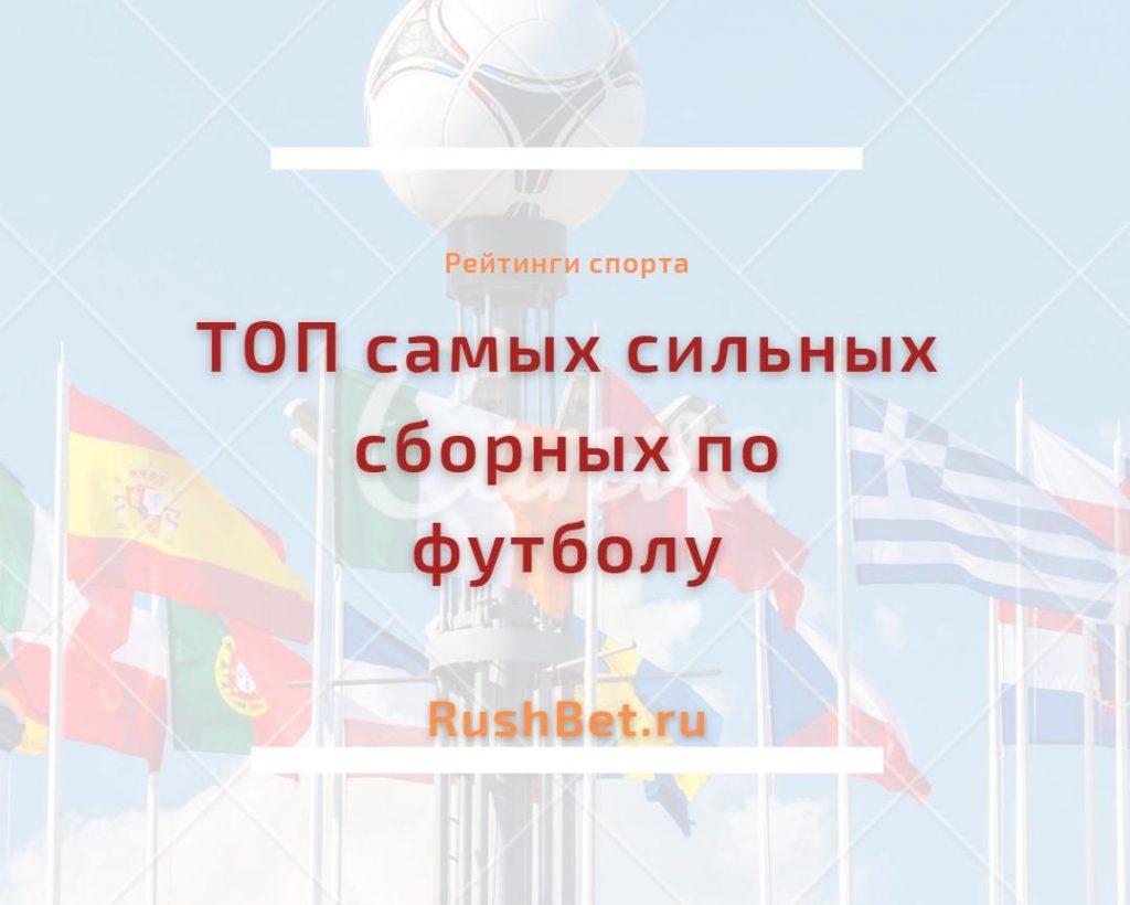 ТОП 10 сборных по футболу